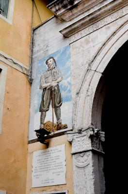 Am Stadttor von Belluno