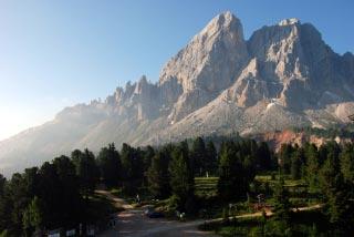 Das Tor zu den Dolomiten: der Peitlerkofel